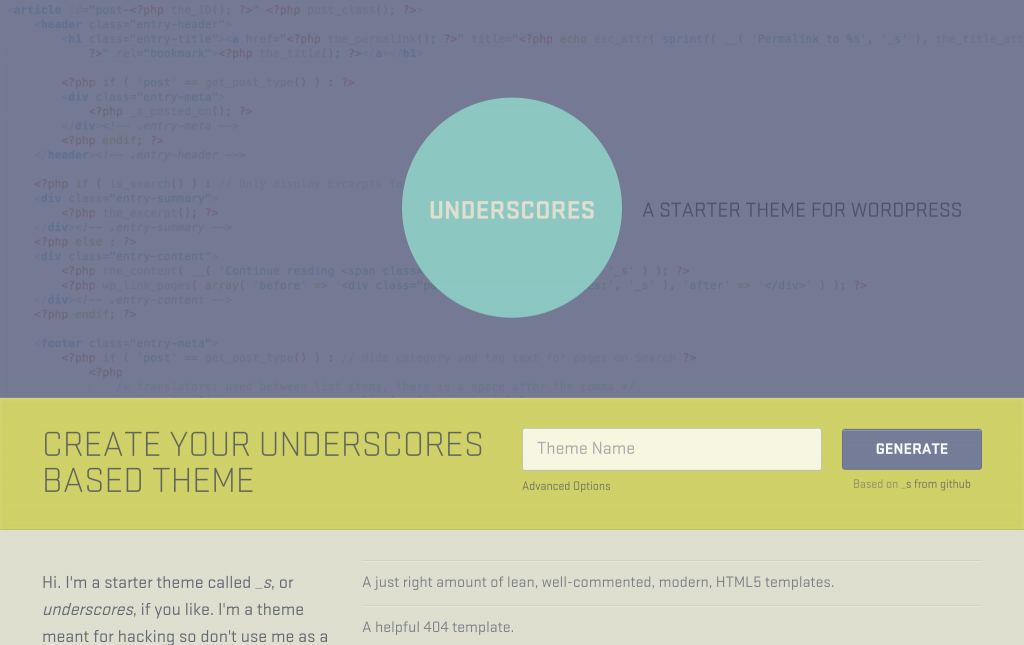 [Tutorial #8] WordPress Custom Theme Basics: Structure