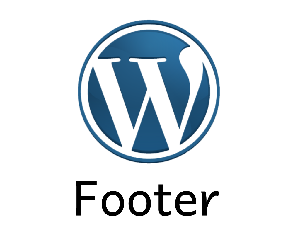 [Tutorial #13] WordPress Footer File Detailed Explanation