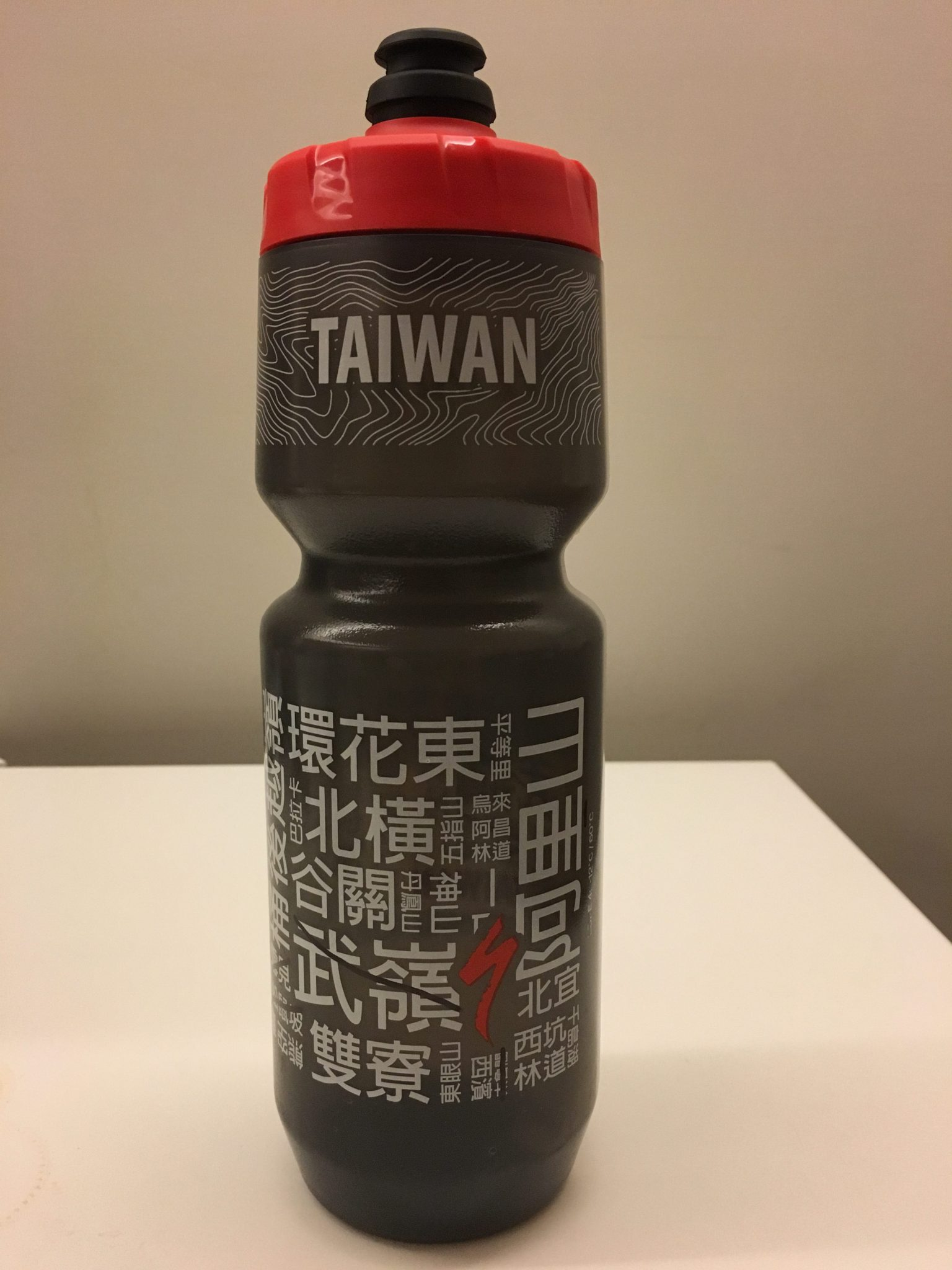 [Gotta Ride Them All!] Specialized Taiwan Route Word Cloud Bottle 台灣騎車路線字雲水壺