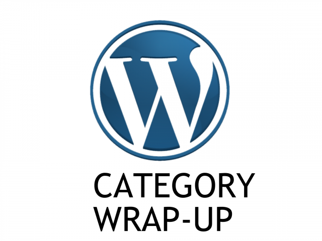 [Tutorial #23] Category Part 3: Adding Categories & Wrap Up