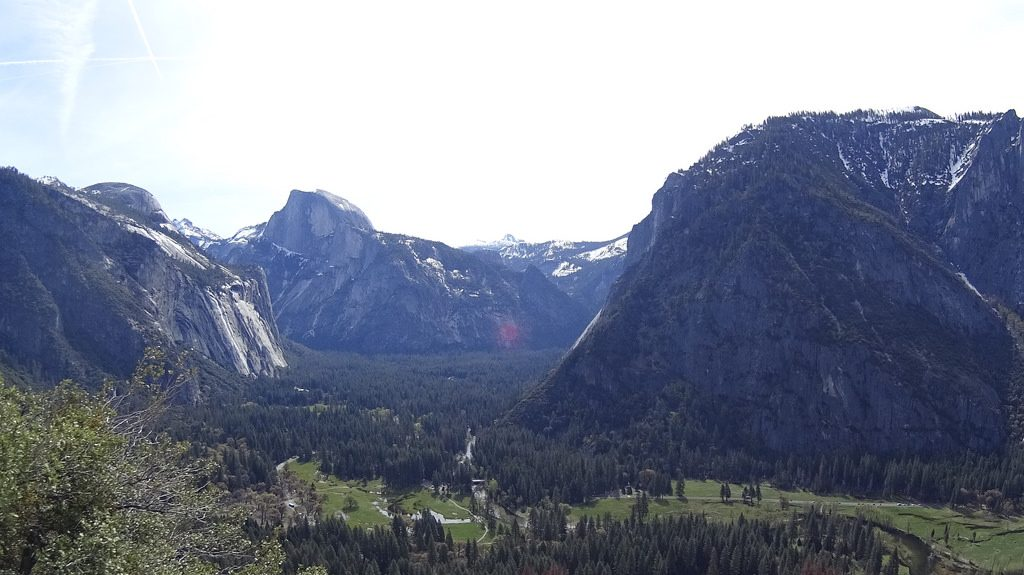 [ Top Valley View! ] Hiking Yosemite Fall Trail in Spring Part 2 優勝美地瀑布登山道之二
