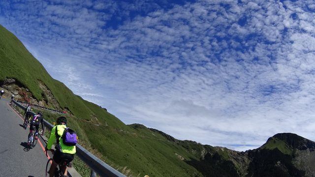 [Riding along the Mountain Ridge] Wuling from the West 西進武嶺